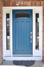 peacock blue front door i always thought i was a red door kind of