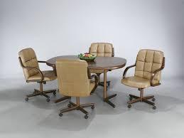 Chromcraft Furniture Kitchen Chair With Wheels Chromcraft Furniture Kitchen Chair With Wheels Vintage Atomic