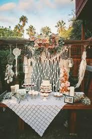 Backyard Birthday Party Ideas Diy Boho Style Backyard 30th Birthday Party Bohemian Pallet Table