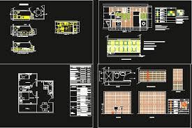 autocad kitchen design interior kitchen design in autocad drawing