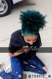 25 trending blue natural hair ideas on pinterest blue hair