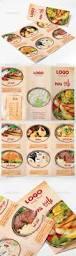 food menu trifold brochure u2014 photoshop psd diner flyer sandwich