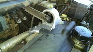 replace front and rear engine mounts