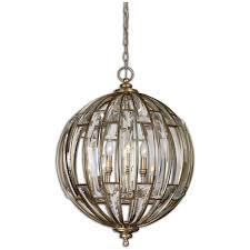amazon com uttermost 22031 vicentina 6 light sphere pendant home