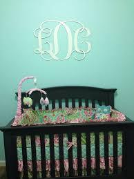 Baby Monogram Wall Decor 25 Best Nursery Monograms Images On Pinterest Wooden Monogram