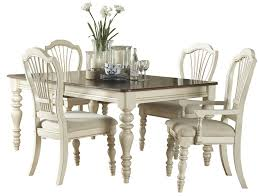 Pine Dining Room Set Hillsdale Pine Island Round Dining Table Old White 5265dtb