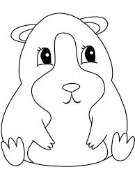 guinea pig coloring pages fablesfromthefriends com
