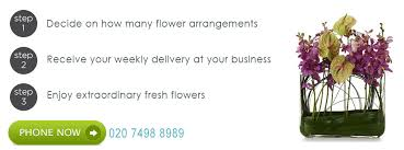 weekly flower delivery corporate flowers london specialist weekly flower delivery