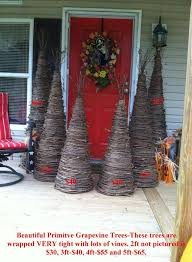grapevine trees nook and s primitive handmade items and decor fort