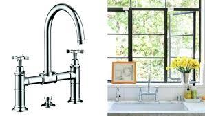 Bridge Faucet For Kitchen Gooseneck Bridge Faucet Kitchen Luxurious Easy Pieces Architects