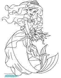 printable coloring pages ariel