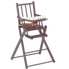 chaise haute b b aubert chaise pliante de combelle chaises hautes fixes aubert