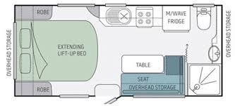 Jayco Caravan Floor Plans Jayco Starcraft Caravan 16 51 3 Eastern Caravans