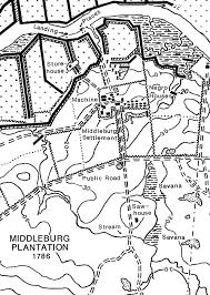 Road Map Of South Carolina Middleburg
