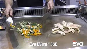 Evo Cooktop Reviews Evo Event 35e Cooking Station Youtube