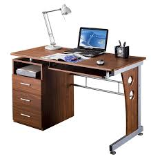 Computer Desk For Corner Amazon Com Techni Mobili Computer Desk With Storage Mahogany