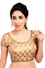 golden blouse mesmeric designer golden color brocade blouse from kalaniketan com