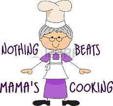 maman baise en cuisine grand mère cuisine banque d images vecteurs et illustrations