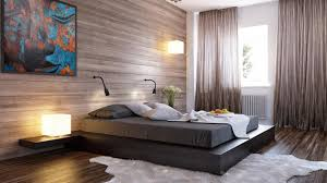 Bedrooms With Wooden Panel Walls Home Design Lover - Wood bedroom design