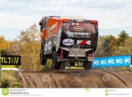 rally truck rally truck of martin van den brink editorial stock photo image