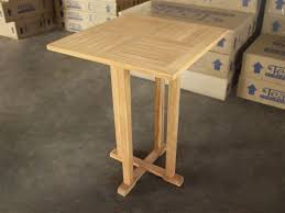 Square Bar Table Bar Table 75cm