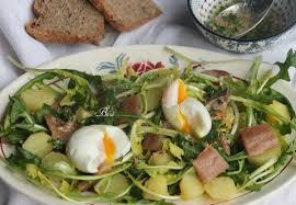 cuisiner le pissenlit salade de pissenlits aux harengs fumés les petits plats de béa