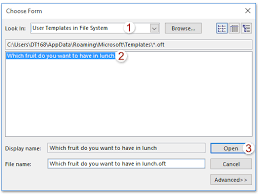 how to save custom voting buttons in outlook email