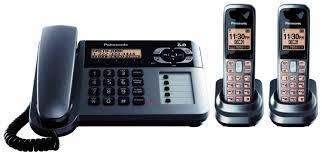 amazon com panasonic kx tg1061m cordless corded phone with