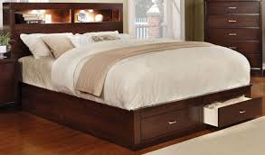 California King Platform Bed With Drawers Best Functional California King Platform Storage Bed