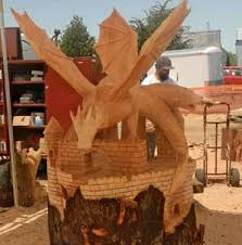 chainsaw carved dragons awesome chainsaw wooden carvings