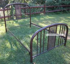 bed frames history of wrought iron beds antique iron bed frame