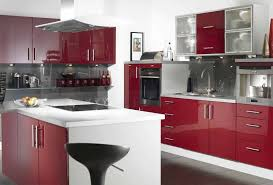 Lacquer Finish Kitchen Cabinets Home Design Ideas - Red lacquer kitchen cabinets