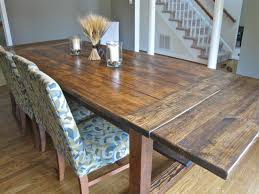 How To Build A Dining Room Table Plans by Farmhouse Table Details Tommy U0026 Ellie
