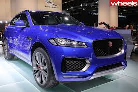 jaguar f pace svr spied wheels