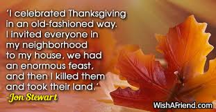 i celebrated thanksgiving in an thanksgiving quote