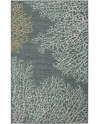 Coral Area Rugs Sale Area Rugs Coral Reef Border Rug 39 X 59 In Coral Reef