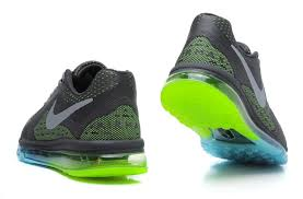 up to date nike air max 2014 shoes for grey green