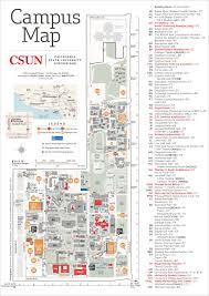csun maps california state university northridge