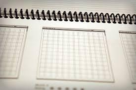 grid layout for 8 5 x 11 5 fantastic notebooks and sketchbooks for designers design shack