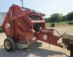 hesston 5500 round baler item d2113 sold august 27 ag e
