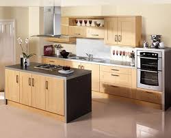 new design a kitchen with simple modern and natural wooden kitchen new design a kitchen with simple modern and natural wooden kitchen design for small space ideas with black countertop also white tile floor and beige wall
