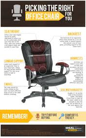 Office Furniture Solution by Picking The Right Office Chair For You Visual Ly
