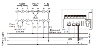 kw1m h eco power meter dimensions automation controls