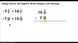 printable integer number line pdf kids adding and subtracting positive negative numbers 34a