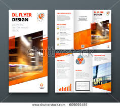 Tri Fold Program Free Tri Fold Brochure Vector Template Download Free Vector Art