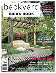 Backyard Amp Garden Design Ideas Magazine Backyard Ideas Book - Backyard and garden design ideas magazine