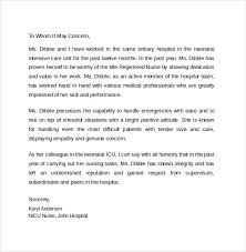 personal letter of recommendation immigration letter of