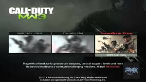 how to play call of duty modern warfare 3 spec ops lan offline or