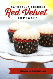 How To Naturally Color Red Velvet Cupcakes Spaceships And Laser