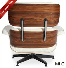 100 reproduction of lounge chair and ottoman mlf